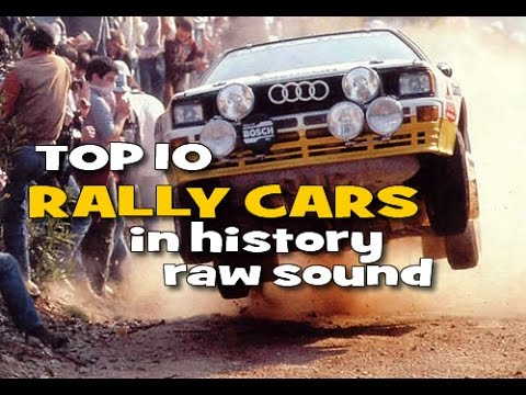 Top 10 Rally Cars in History - Raw Sound
