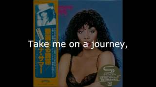"Donna Summer - Journey to the Centre of Your Heart LYRICS SHM ""Bad Girls"" 1979"