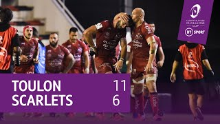 Toulon vs Scarlets (11-6) | Challenge Cup highlights