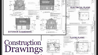 Example Of Construction Drawings For A Garage Apartment