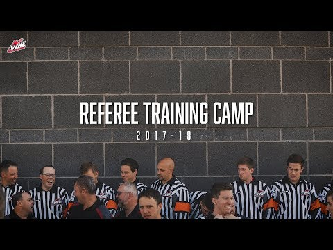 OFFICIATING | 2017 WHL Referee Training Camp - YouTube