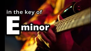 GUITAR JAM TRACK: Melodic Hard Rock in the key of ★ E MINOR ★