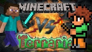 Рэп Баттл - Minecraft vs. Terraria