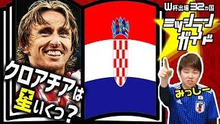 ロシアW杯クロアチア代表を格付け!出場32カ国ミッシランガイド15/32
