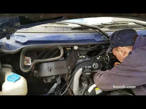Фото к видео: Как быстро определить причину дымления: турбина или двигатель, Volkswagen LT II 2.5d, ACV
