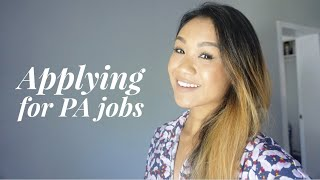 Applying for PA Jobs |Sources|Interview|Contract|Salary