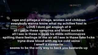 Kanye West 'Monster' ft. Jay Z, Nicki Minaj, Rick Ross & Bon Iver (Lyrics On Screen)