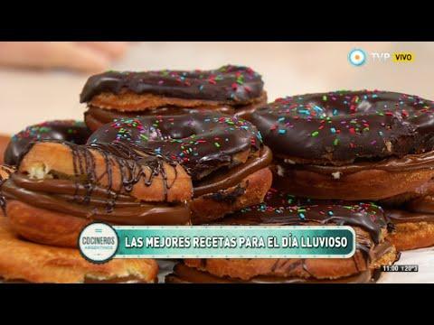 Lechón, chorizos, pechito, vacío y donuts con Los del Fuego Parte   5