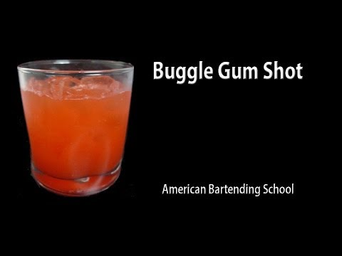 Bubble Gum Cocktail Drink Recipe