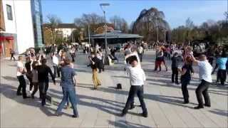 preview picture of video 'Horsham Salsa Flashmob - 29th March 2014 - film 2'