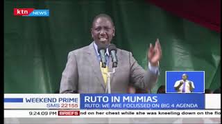 Dr. William Ruto asks supporters to remain calm ahead of 2022 General Elections