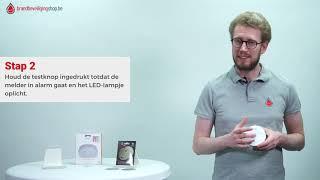 Hoe activeer en installeer ik de Elro rookmelder met 10 jarige batterij (SamenSterker pakket 1 en 2)
