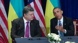President Obama Meets with President-elect Poroshenko