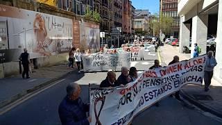 Debabarreneko Pentsiodun eta Jubilatuen manifestazioa (2019/04/13)