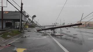 HURRICANE MICHAEL - PANAMA CITY, FLORIDA - STOCK FOOTAGE