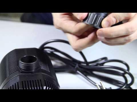 Filterpumpe Teichpumpe Bachlaufpumpe Einführung