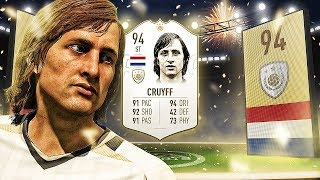 94 PRIME CRUYFF IN A PACK!! - FIFA 19 PACK OPENING