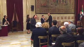 """Premio """"ECCELLENZA ITALIANA nel MONDO sezione MUSICA"""" al Palazzo MONTECITORIO. Per la sezi"""