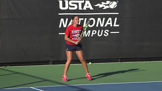 USTA Improve your Game: Returning against the I-formation