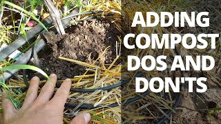 Adding Compost to Plants: Dos and Don'ts