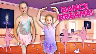 Addy and Maya Become BALLERINAS in the SECRET PLAYROOM !!