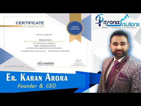 Finance FREE Certification Courses - Financial Market, Stock ...