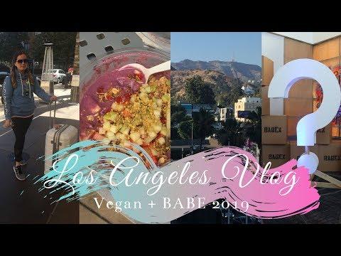 LA VLOG   Vegan + BuildaBEAST 2019