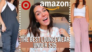 AMAZON AND TARGET LOUNGEWEAR HAUL - NOTHING OVER $35! | Rudi Berry