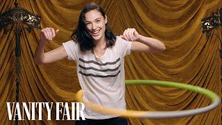 Gal Gadot Shows Off Her Hula Hooping Skills | Secret Talent Theatre | Vanity Fair - Video Youtube