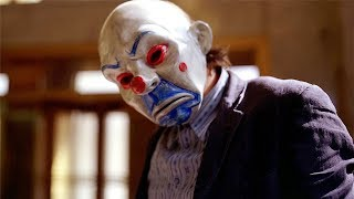 Bank Robbery Scene (JOKER) - The Dark Knight (2008) Movie CLIP HD