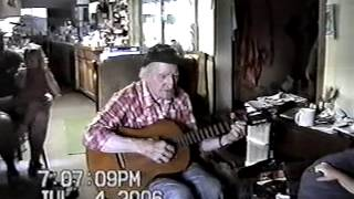 Grandpa Singing Froggy Went A Courtin