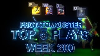 League of Legends Top 5 Plays Week 200 Special Episode - Featuring Trick2G