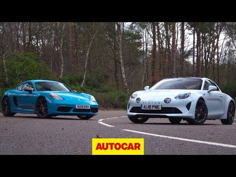 Porsche 718 Cayman T v Alpine A110S review | 2020's hottest coupes tested | Autocar
