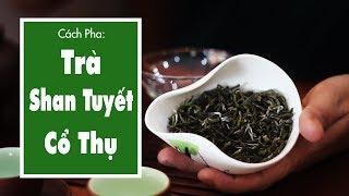 Cách Pha Trà Shan Tuyết Cổ Thụ Tà Xùa