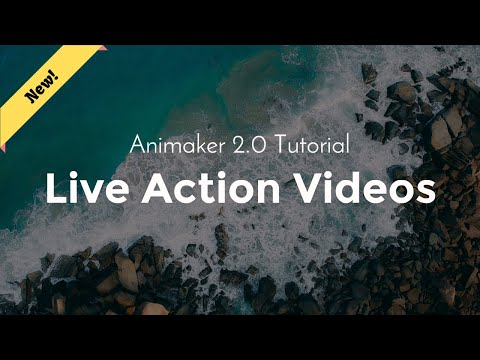 Animaker Tutorial - Live Action Video