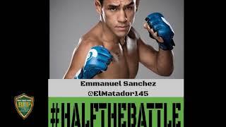 Emmanuel Sanchez Exclusive Interview on Half The Battle - Bellator 198