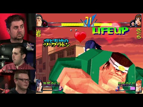 Ranking of Fighters 0009: Double Dragon '95 & Rival Schools