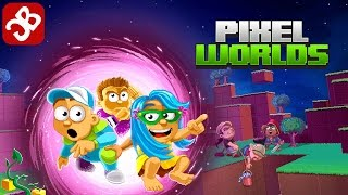 Pixel Worlds (By Kukouri) - iOS/Android - Gameplay Video