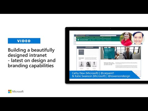 Building a beautifully designed intranet with SharePoint – latest design and branding capabilities