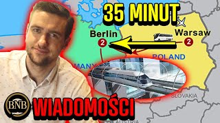 Niemcy chcą WSPÓŁPRACOWAĆ! Do Berlina dojedziesz w 35 minut | WIADOMOŚCI