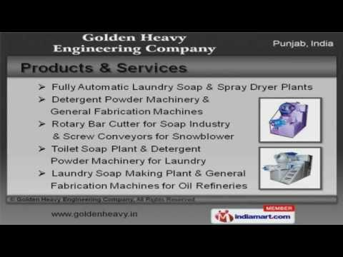 Fully Automatic Laundry Soap Plant and Toilet Soap Plant Exporter