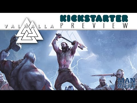 VALHALLA Preview by Man Vs Meeple