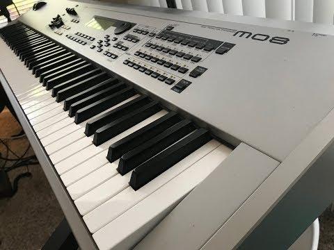 Yamaha MO8 Music Production Synthesizer Review