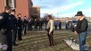 Farmington Police Department Retirement Ceremony - Julie Henrie