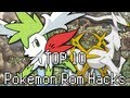 Top 10 Pokemon GBA Rom Hacks 2013!