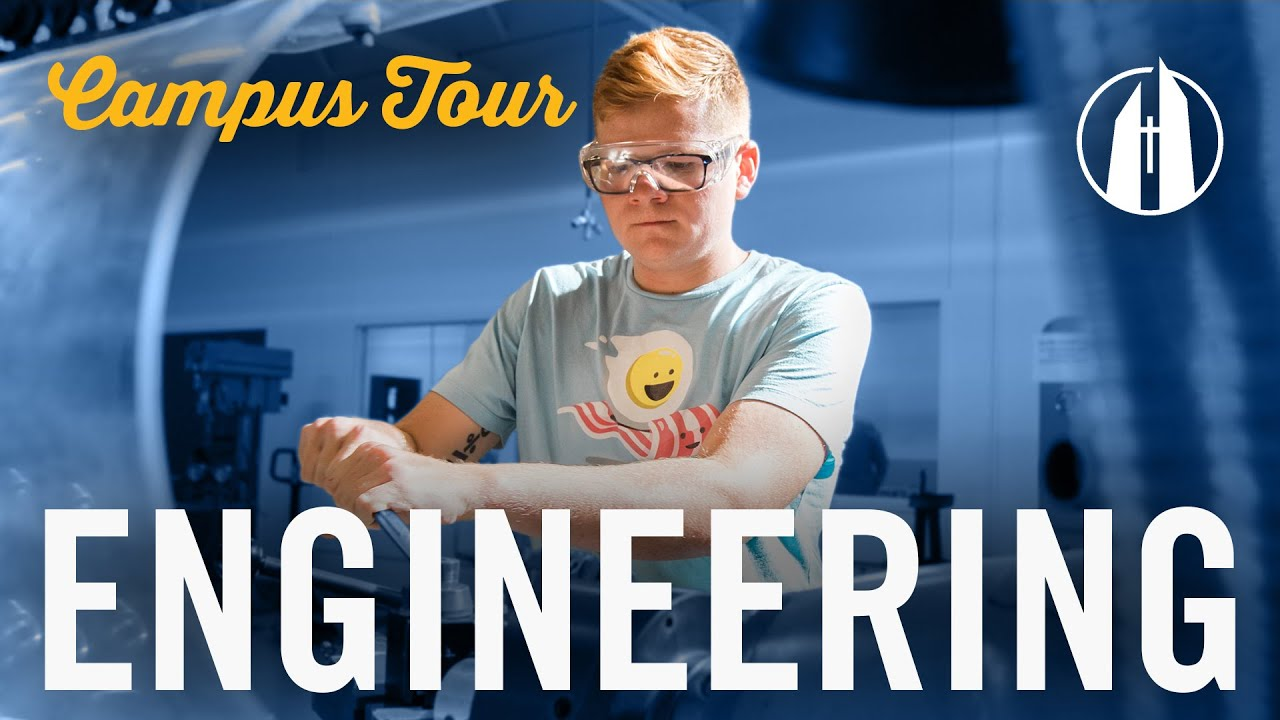 Watch video: Campus Tour: Engineering Department | George Fox University