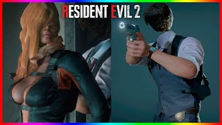 Resident Evil 2 Mods Rachael Foley Mod and Leon With No Head