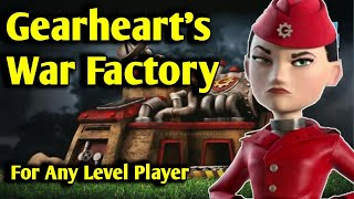 Boom Beach How To Beat Gearheart War Factory Today - 25th February 2021