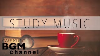Study Music Mix - Smooth Jazz Music - Relaxing Cafe Music For Study