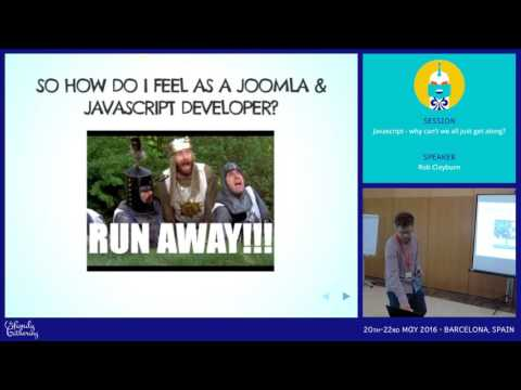 JAB16 - Javascript - why can't we all just get along?